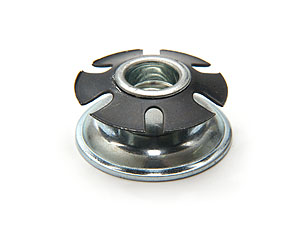 Round Metal Threaded End Plug P305